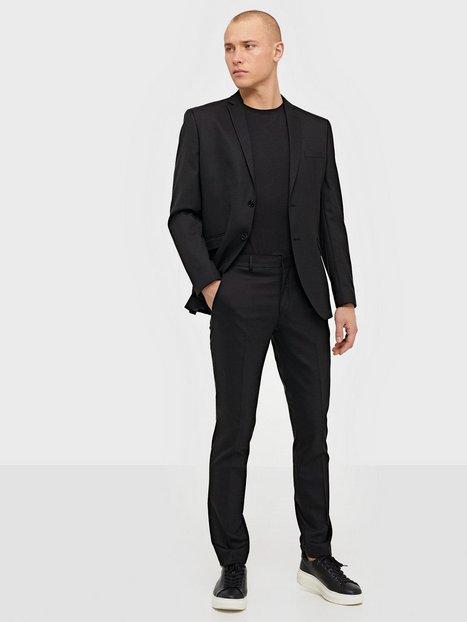 Selected Homme Slhslim Mylostate Black Blazere jakkesæt - herre