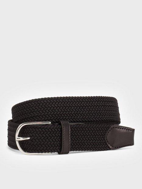 Saddler SDLR Belt Male Bælter Black - herre