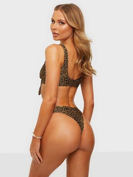 NLY Beach Clean Cut Bikini Panty Trusser Leopard