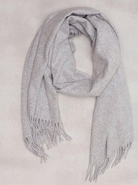 Whyred Wiley Halstørklæder scarves Grey Melange - herre