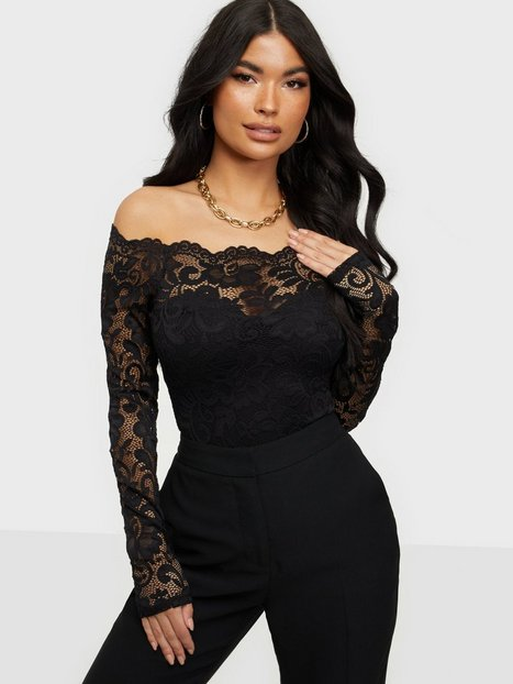 NLY One Off Shoulder Lace Body Bodyer