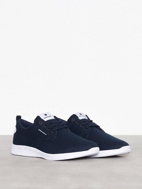 Björn Borg X200 Low Canvas Sneakers Navy - herre