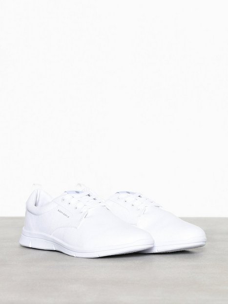 Björn Borg X200 Low Canvas Sneakers White - herre