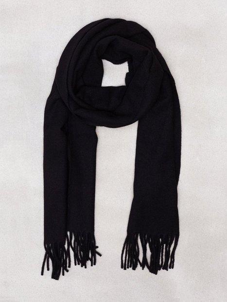 Polo Ralph Lauren Wool Scarf Halstørklæder scarves Black mand køb billigt