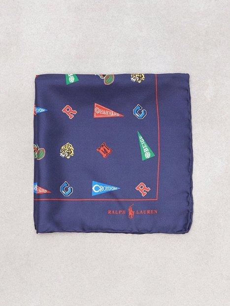 Polo Ralph Lauren Pocket Square Lommetørklæder Navy - herre