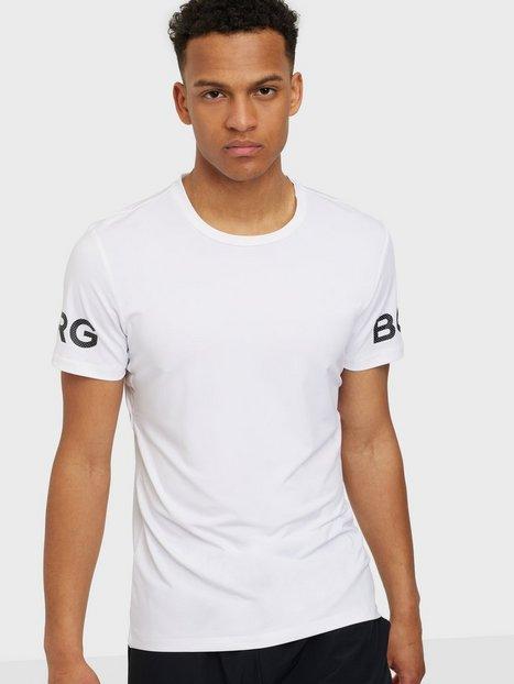 Björn Borg Borg Tee Trænings t-shirts White