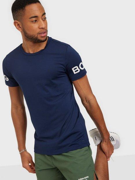 Björn Borg Borg Tee Trænings t-shirts Peacoat