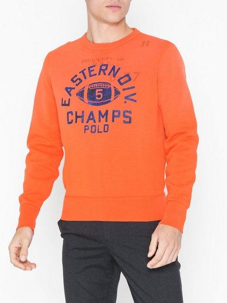 Polo Ralph Lauren Vintage Fleece Trøjer Orange - herre