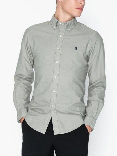 Polo Ralph Lauren Oxford Long Sleeve Sport Shirt Skjortor Grey
