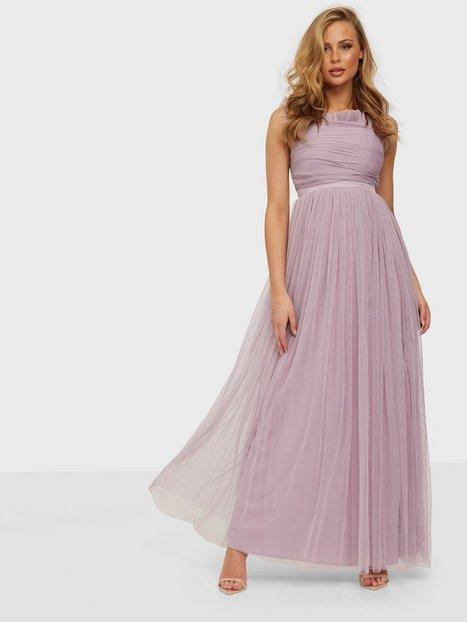Anaya Ruffle Bardot Maxi Dress Maxikjoler