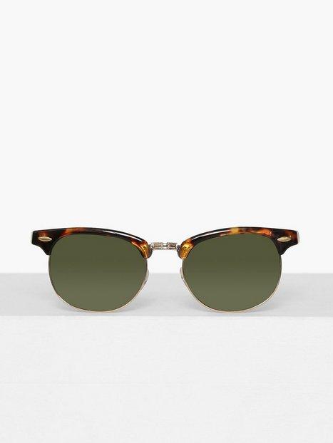Topman Tortoiseshell Classsic Sunglasses Solbriller Brown mænd køb billigt