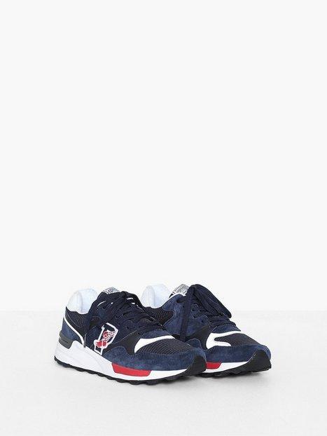 Polo Ralph Lauren Athletic Sneakers Sneakers Navy - herre