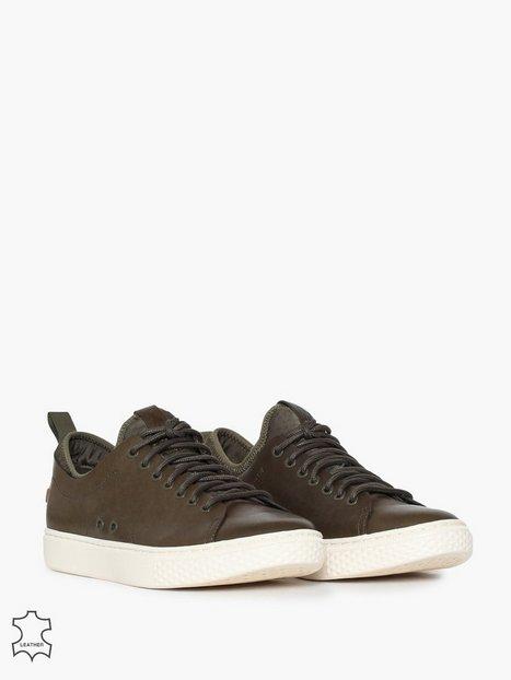 Polo Ralph Lauren Dunovin Sneakers Sneakers Olive mand køb billigt
