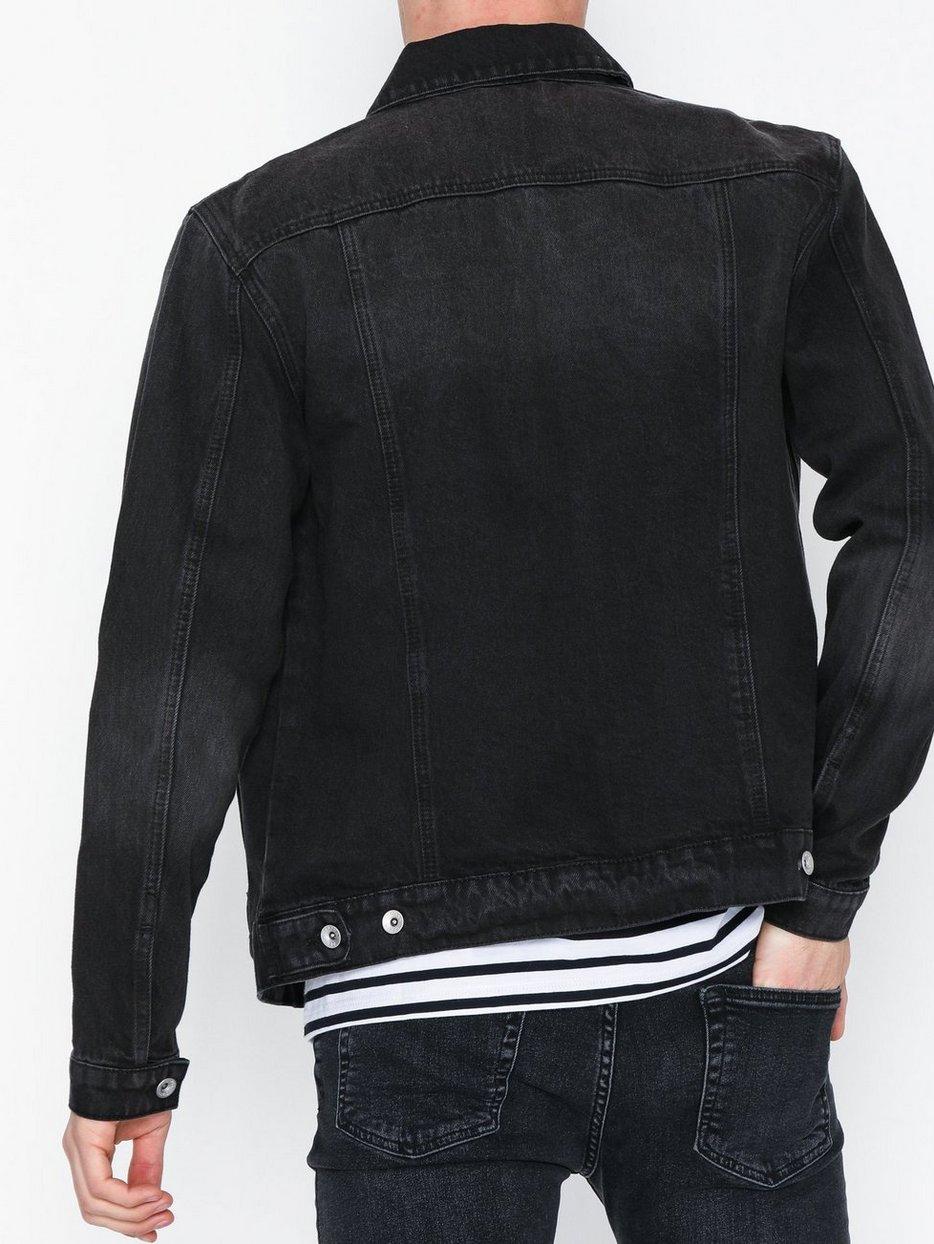 Black Denim Western Jacket