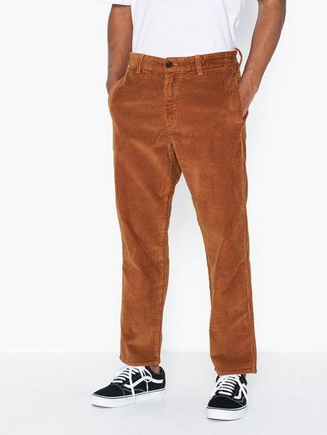 Tiger Of Sweden Jeans Bryn Cotton Pants Bukser Desert - herre