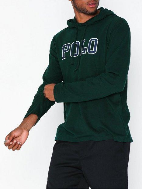 Polo Ralph Lauren Long Sleeve Jersey T Shirt Trøjer Green - herre