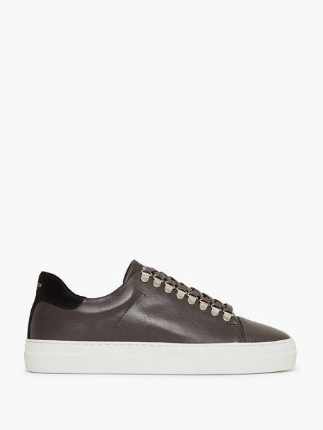 Jim Rickey Pulp Hike Leather Suede Sneakers Dark Grey - herre