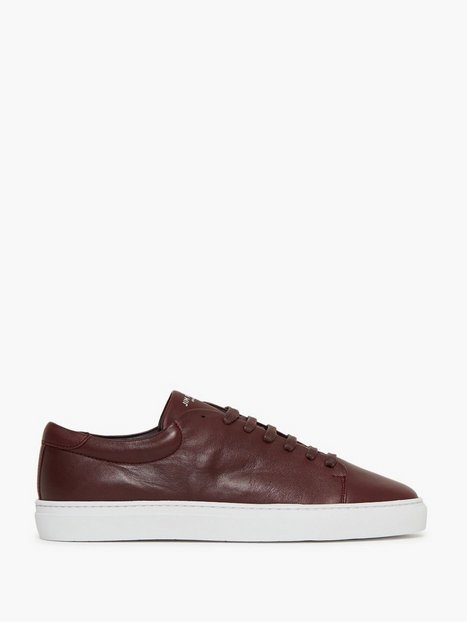 Jim Rickey Club Leather Sneakers Bordeaux - herre