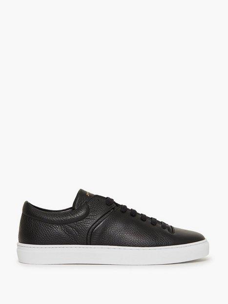 Jim Rickey Cloud Fullgrain Leather Sneakers Black mand køb billigt