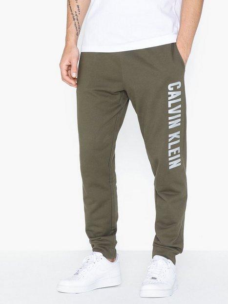 Calvin Klein Performance Knit Pants Træningsbukser Grape Leaf - herre