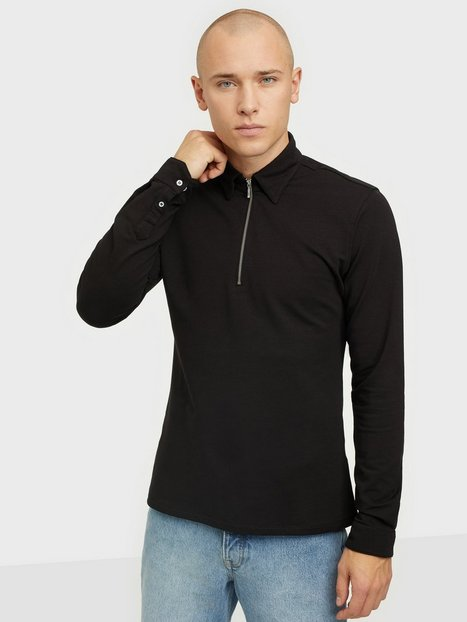 Ciszere Dev half zip Trøjer Pitch Black