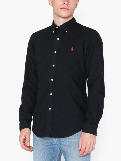 Polo Ralph Lauren Oxford Long Sleeve Sport Shirt Skjortor Black