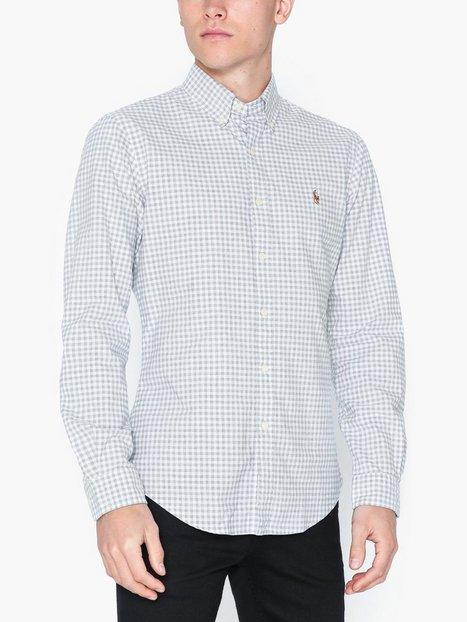 Polo Ralph Lauren Long Sleeve Oxford Shirt Skjortor Heather Grey