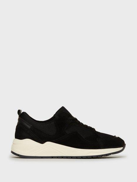 Bianco BIADAKOTA Suede Sneaker Sneakers Sort mand køb billigt