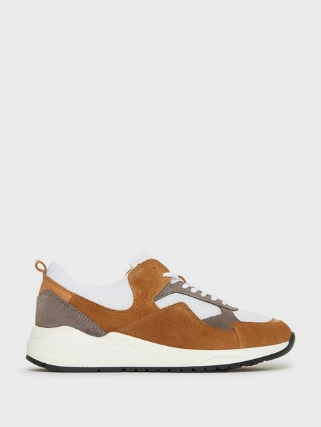 Bianco BIADAKOTA Suede Sneaker Sneakers Brun - herre