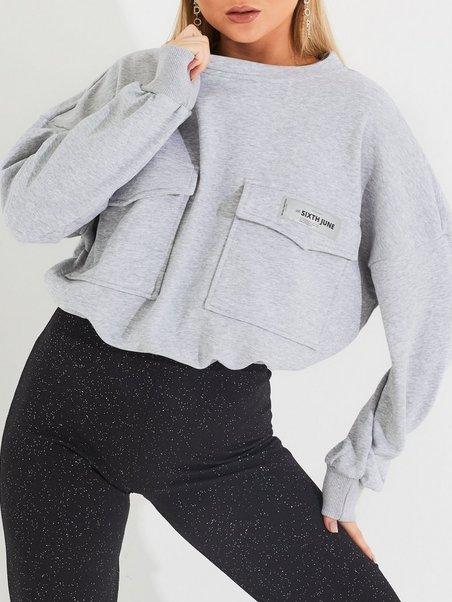 Sixth June Womens Cargo Sweatshirt