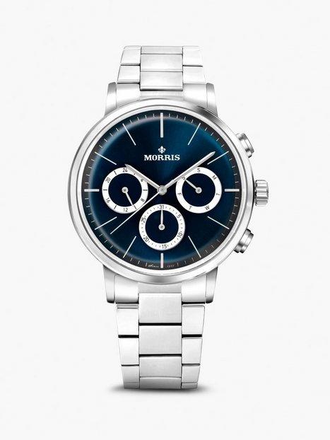 Morris Watches Brixton Multi Ure Sølv - herre