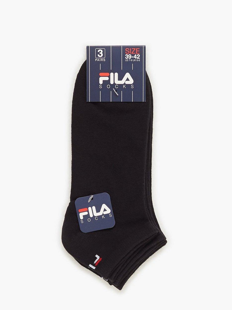 3 Pack Fila Socks Invisible, Fila