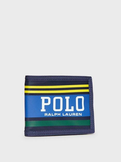 Polo Ralph Lauren Big Polo Wallet Punge Navy Yellow - herre