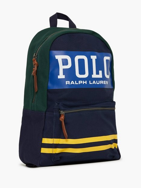 Polo Ralph Lauren Big Polo Backpack Tasker Navy mænd køb billigt