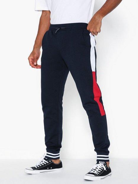 Tommy Hilfiger Colorblocked Sweatpants Bukser Desert mand køb billigt