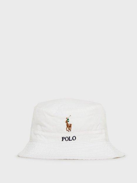 Polo Ralph Lauren Loft Bucket Hat Hatte Pure White - herre