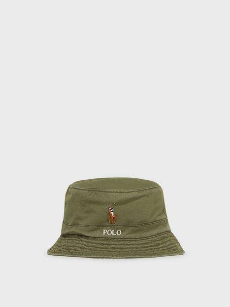 Polo Ralph Lauren Loft Bucket Hat Hatte Army Olive - herre