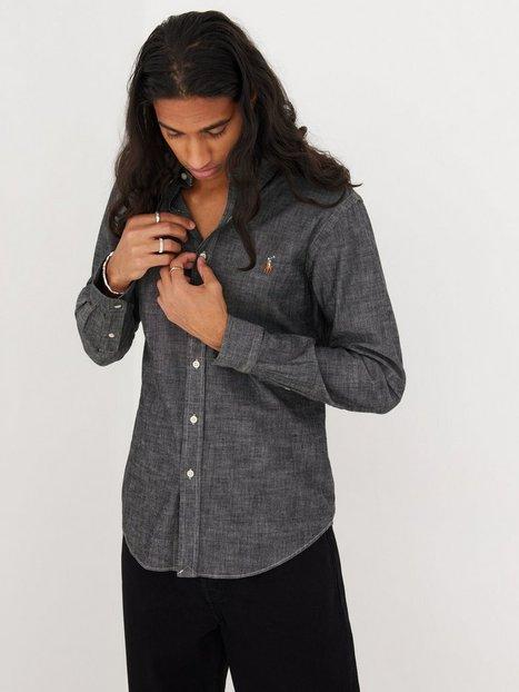 Polo Ralph Lauren Long Sleeve Chambray Shirt Skjorter Light Grey