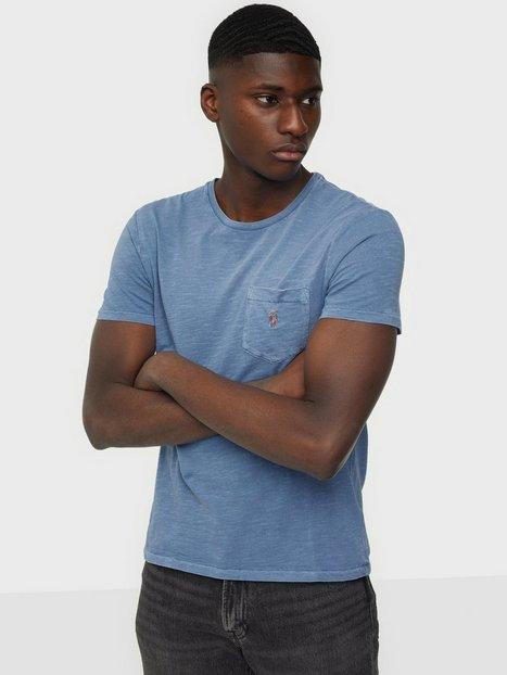 Se Polo Ralph Lauren Short Sleeve T-Shirt T-shirts & undertrøjer Blue ved NLY Man