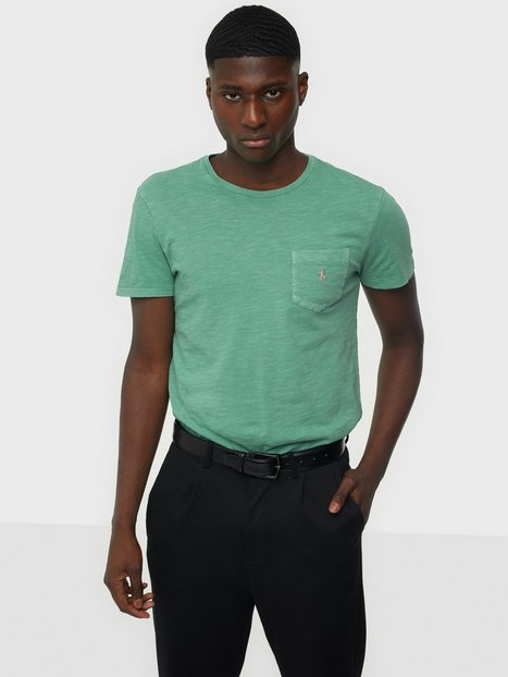 Se Polo Ralph Lauren Short Sleeve T-Shirt T-shirts & undertrøjer Green ved NLY Man