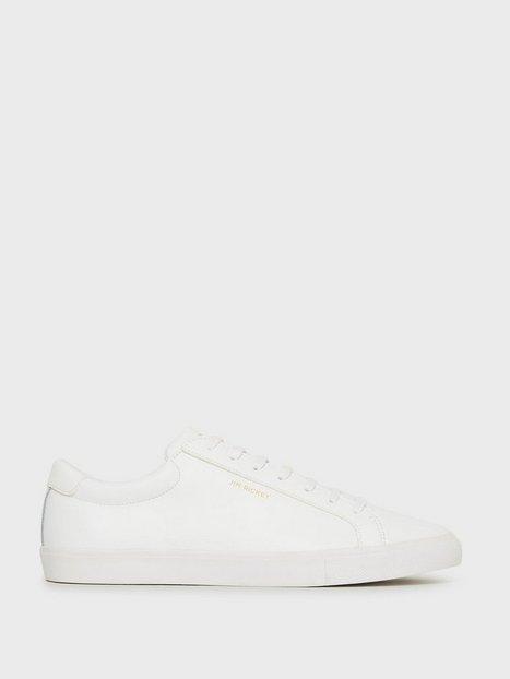 Jim Rickey Chop Leather Pu Sneakers White mand køb billigt