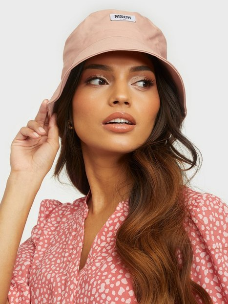 MOSS COPENHAGEN Balou Bucket Hat Hatte Dusty Rose
