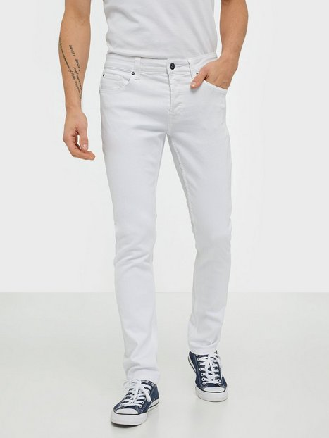 Only & Sons Onsloom Slim White Pk 6127 Jeans Hvid