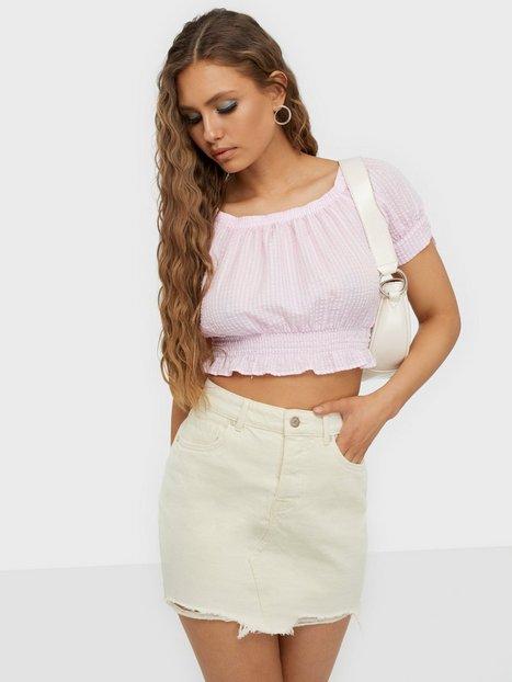 Only Onlsky Reg Skirt Raw Edge Dest.Bb P Mini nederdele