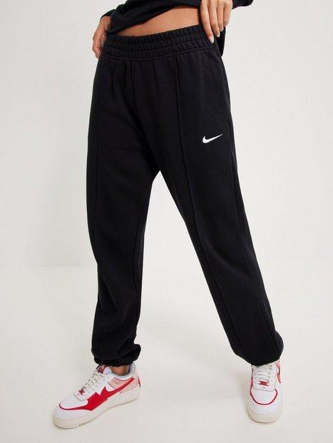 Nike W Nsw Pant Flc Trend Joggingbukser Black