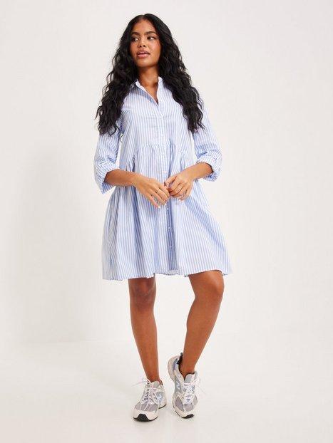Only Onlditte Life 3/4 Stripe Dress Noo Loose fit dresses