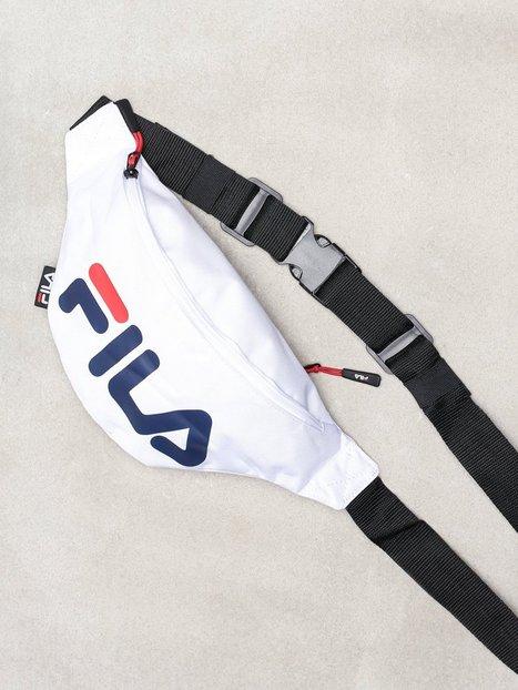 Fila Waist bag slim Tasker White - herre