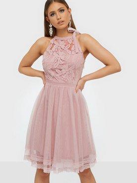 VILA Ulricana ss Maxi Dress Silver Peony Bubbleroom