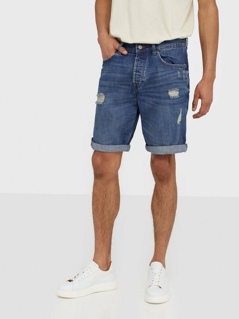 Only Sons Onsavi Loose Blue Shorts Dcc 5232 N Shorts Blå - herre