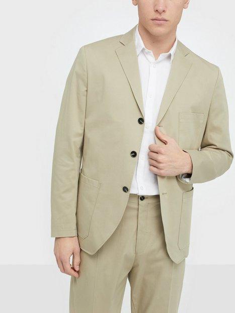 Selected Homme Slhslim Fole Crockery Blz B Blazere jakkesæt Beige - herre